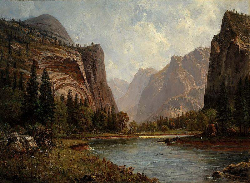 Albert Bierstadt Gates of the Yosemite