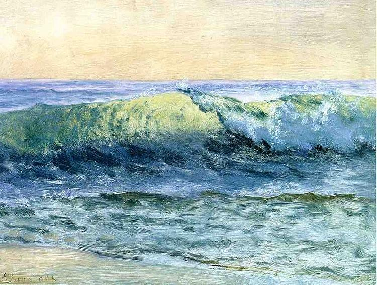 Albert Bierstadt The_Wave