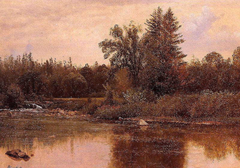 Albert Bierstadt Landscape, New Hampshire
