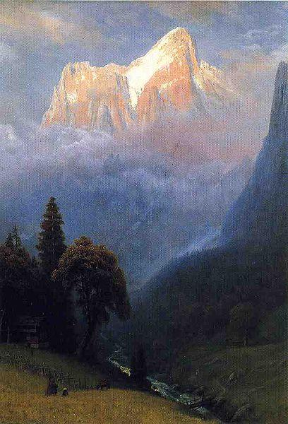 Albert Bierstadt Storm_Among_the_Alps