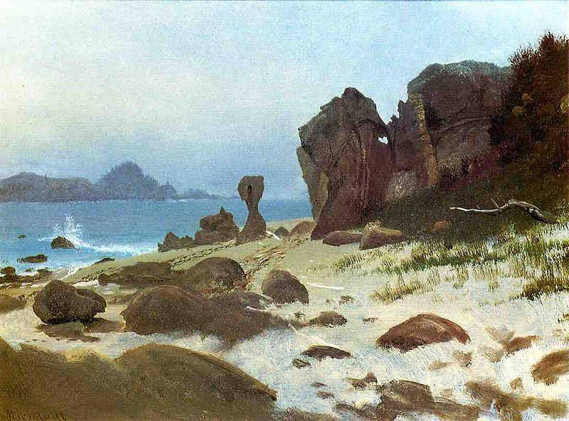 Albert Bierstadt Bay of Monterey, California