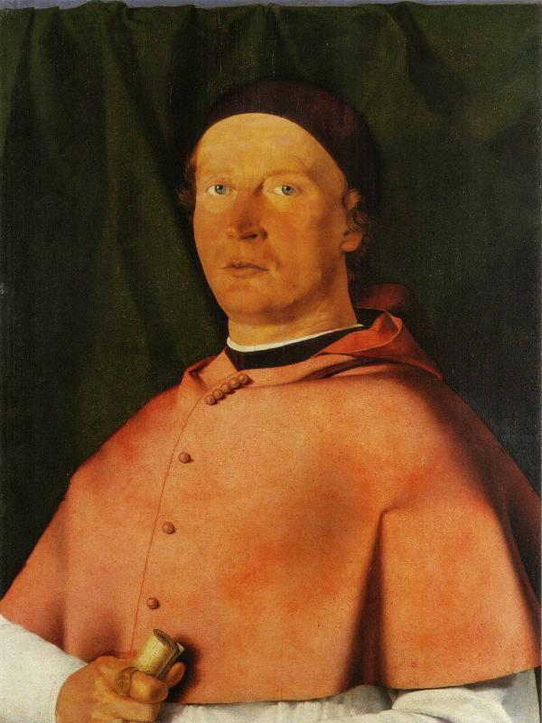 Lorenzo Lotto Portrait of Bishop Bernardo de Rossi