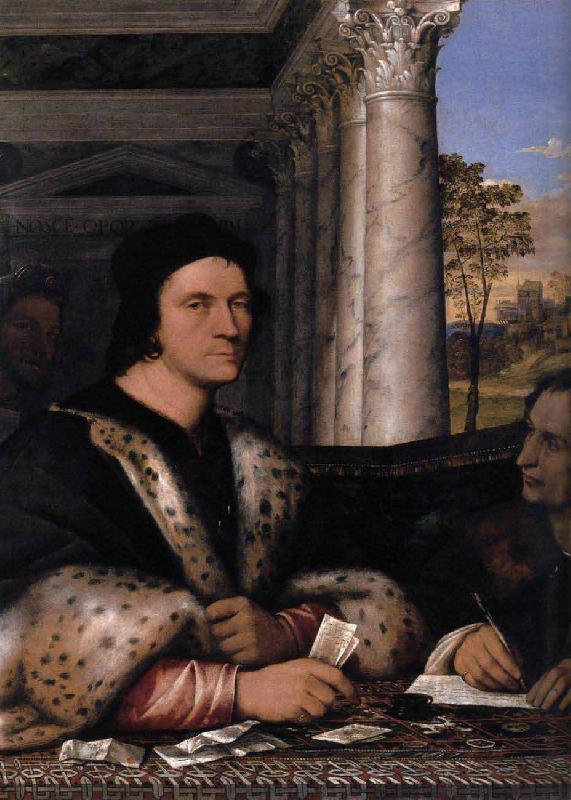 Sebastiano del Piombo Portrait of Ferry Carondelet with his Secretaries