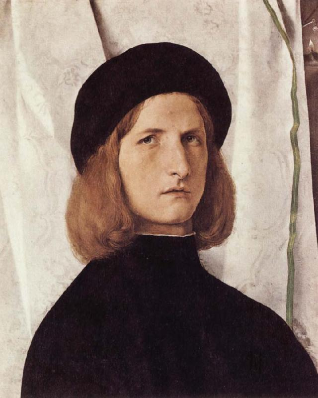 Lorenzo Lotto Portrait of a Young Man