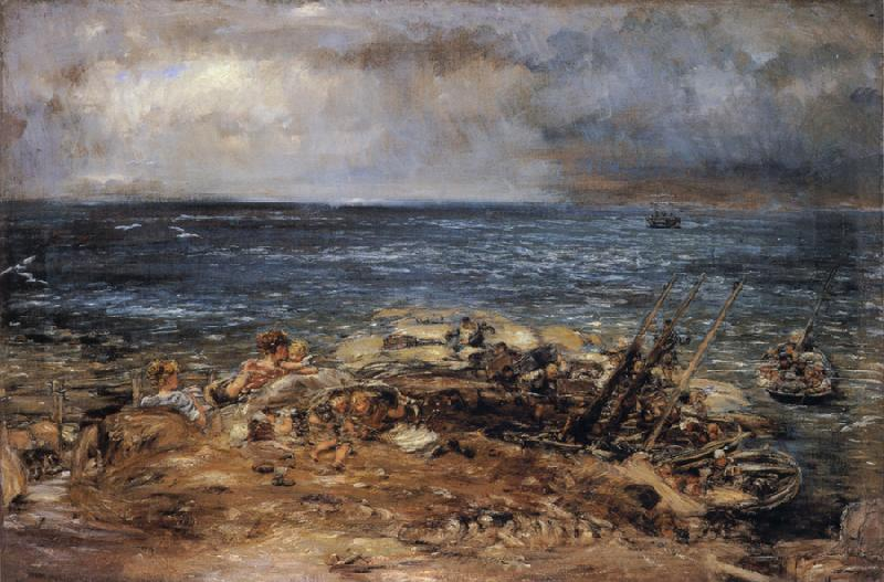 William Mctaggart The Emigrants